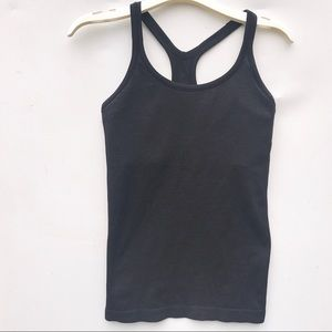 LULULEMON Ebb to Street black tank top 6 shirt